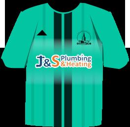J&S plumbing sponsors Coleby FC football team